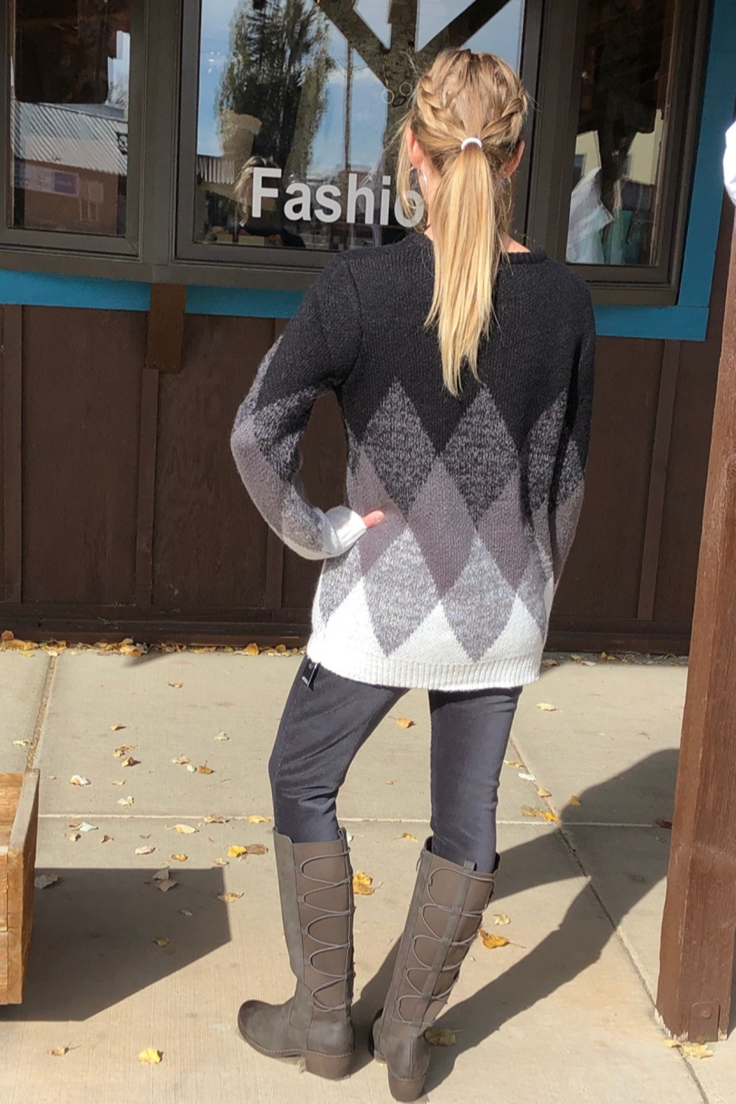 Keren Hart Pull -Over Sweater - Side Cropped Image