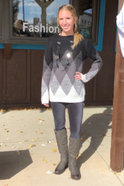 Keren Hart Pull -Over Sweater - Front cropped