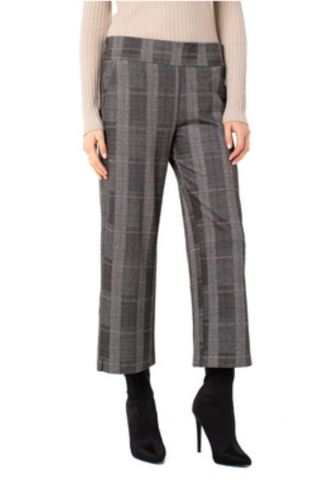 Liverpool  Pull-Over Wide Leg Pant - Main Image