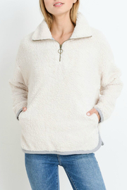 Paper Crane Pullover Fleece - Front cropped