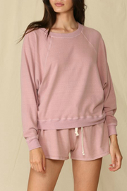 By Together  Pullover French Terry Top - Front cropped