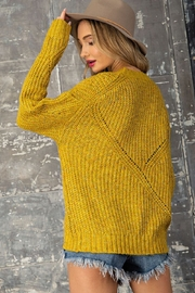 eesome Pullover Knit Sweater - Side cropped