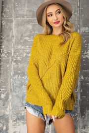 eesome Pullover Knit Sweater - Front cropped