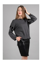 Molly Bracken Pullover Laces Sweater - Product Mini Image