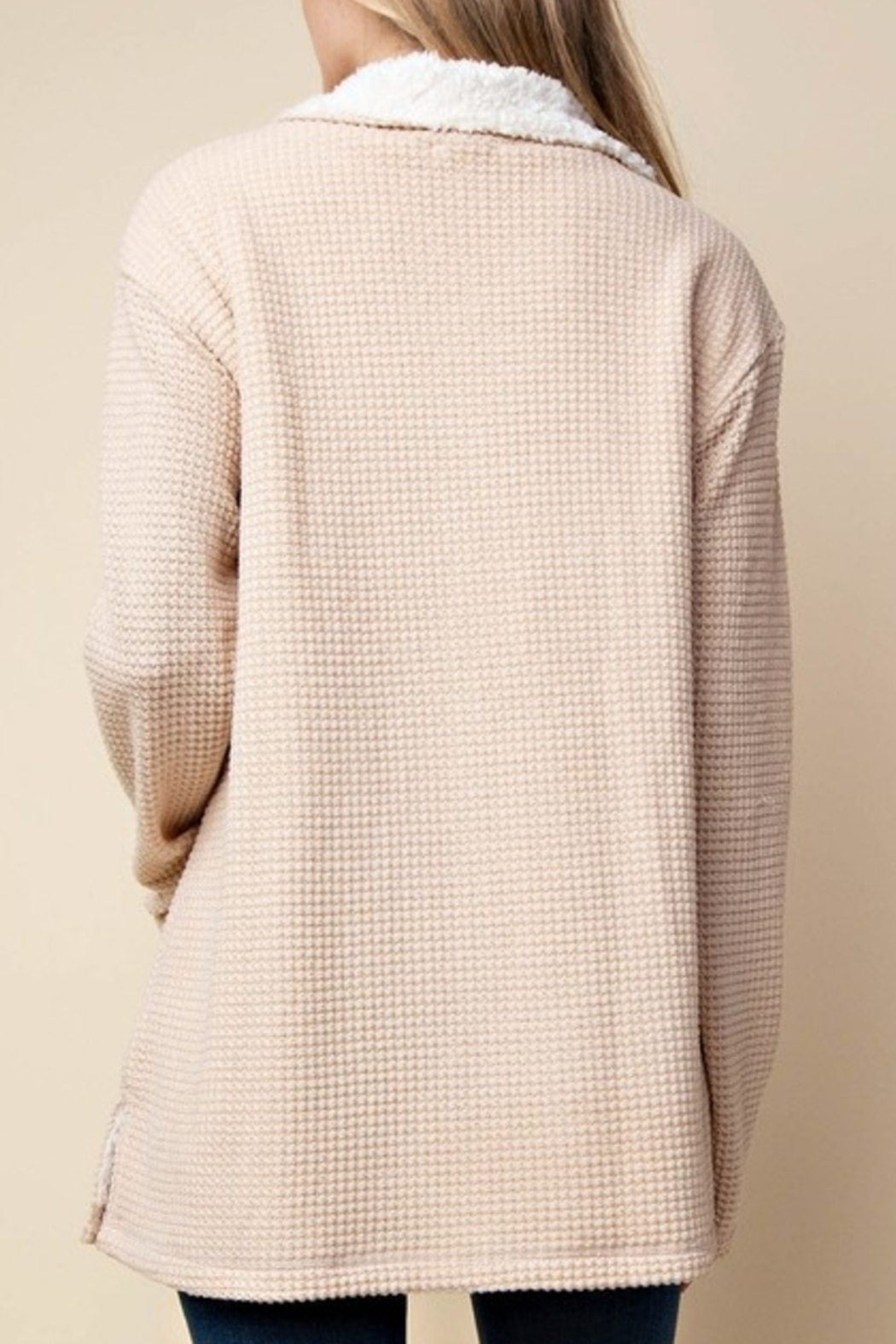 KORI AMERICA Pullover Perfection sweater - Front Full Image