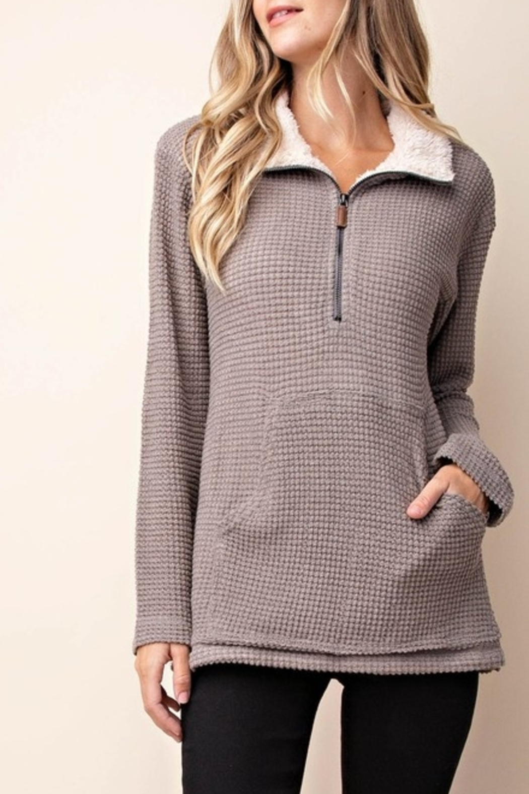 KORI AMERICA Pullover Perfection sweater - Front Cropped Image