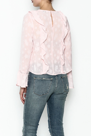 Ark & Co. Pullover Ruffle Blouse - Back cropped