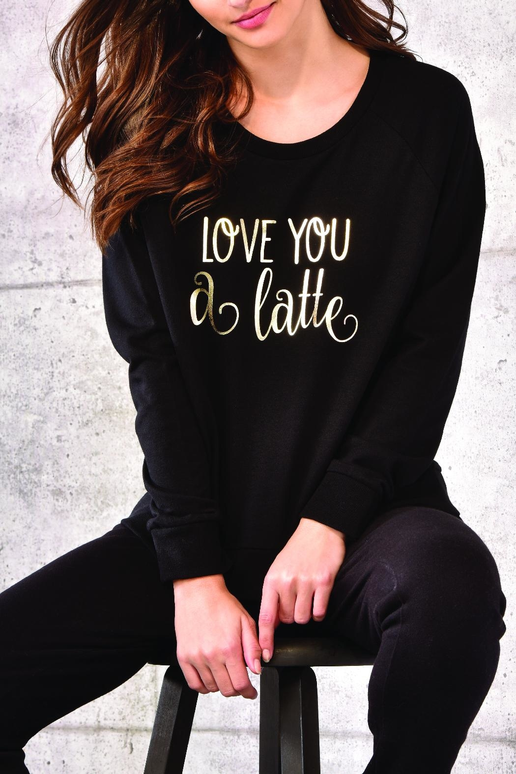 Charlie Paige Pullover Sentiment Sweatshirt - Main Image
