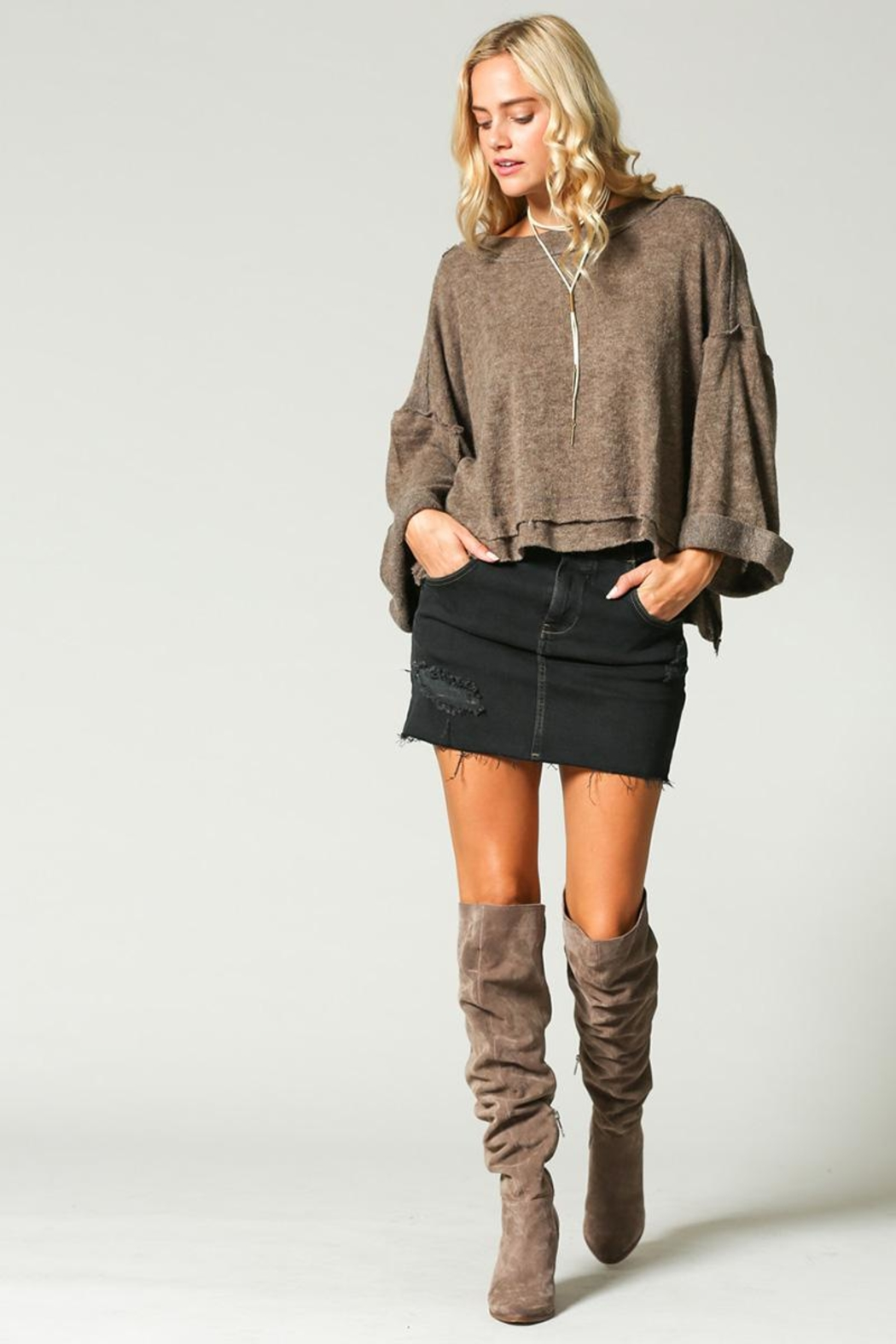 KyeMi Pullover Sweater - Front Full Image