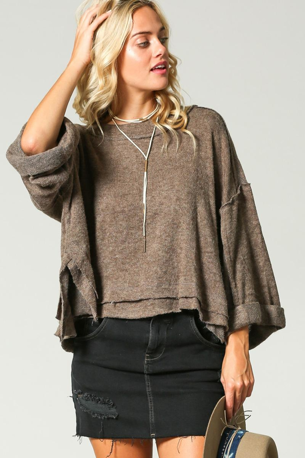 KyeMi Pullover Sweater - Side Cropped Image