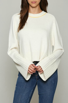 Fate Pullover sweater with Bell sleeve - Product List Image