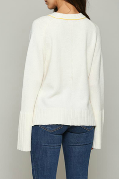 Fate Pullover sweater with Bell sleeve - Alternate List Image