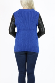 Pulp 2 Tone Cardigan - Back cropped
