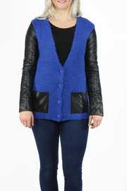 Pulp 2 Tone Cardigan - Front cropped