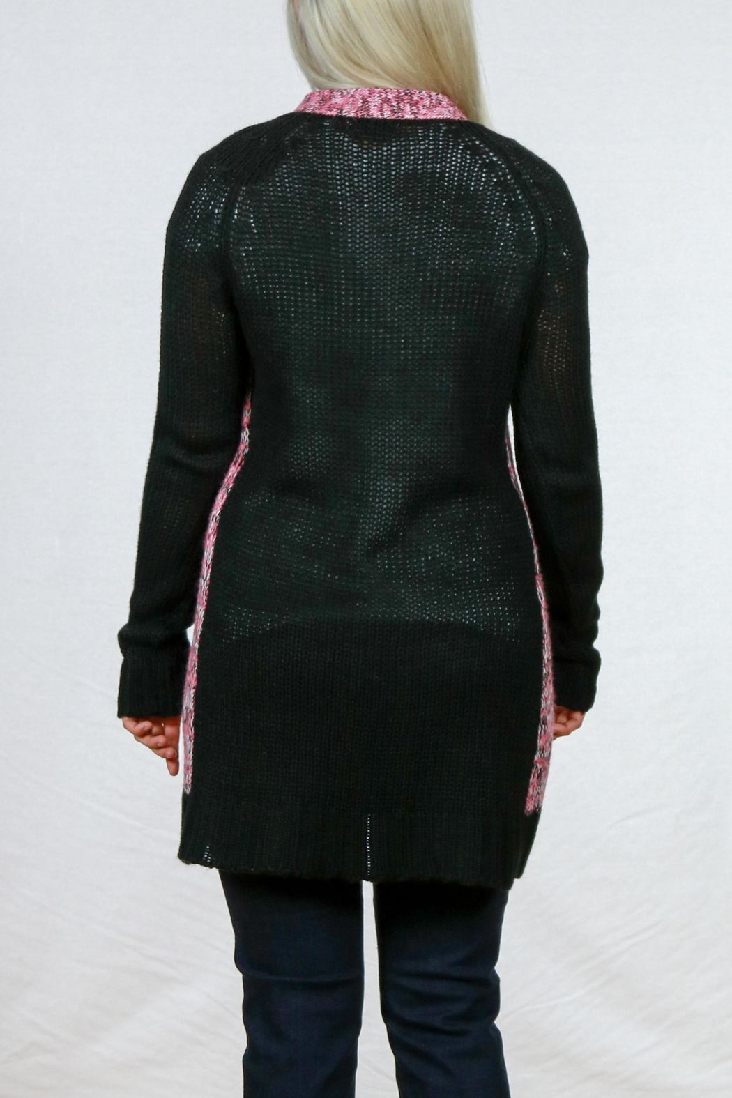 Pulp Single Button Cardigan - Front Full Image
