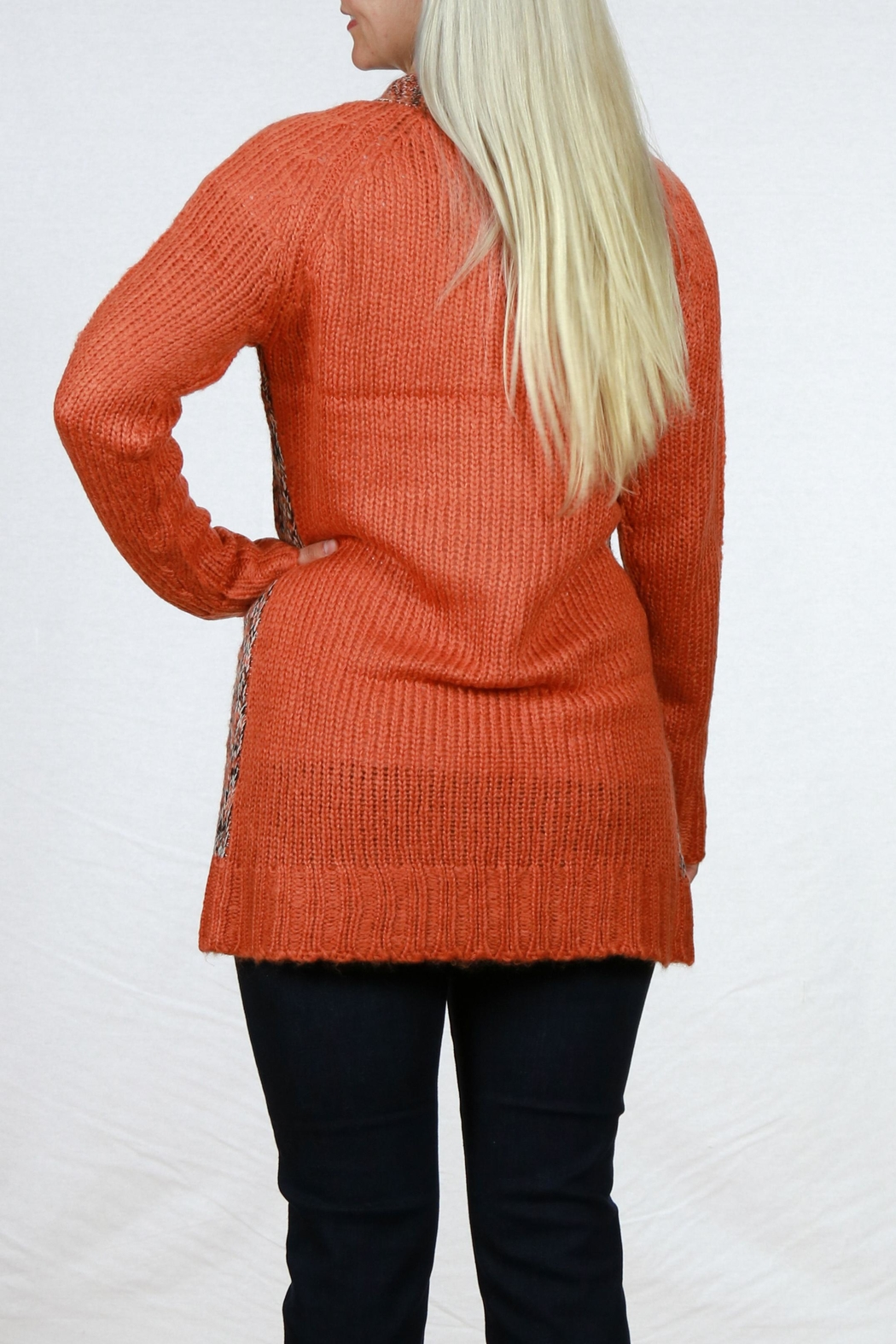 Pulp Single Button Cardigan - Side Cropped Image