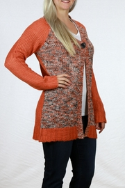 Pulp Single Button Cardigan - Front cropped