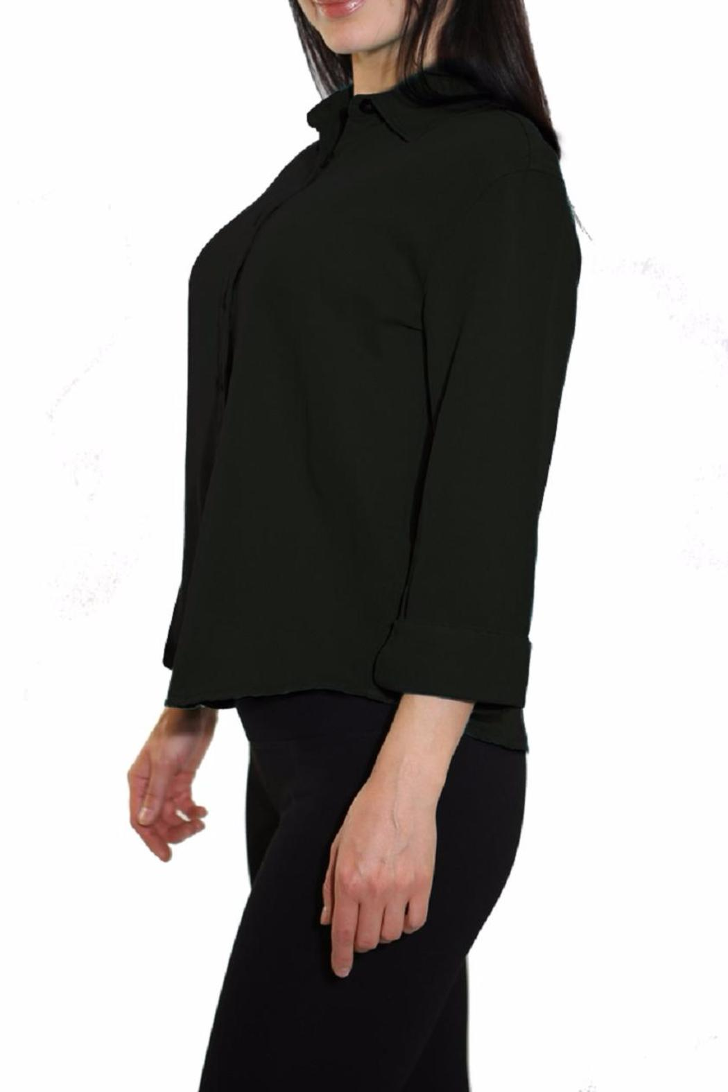 Pulp Tencel Blouse - Side Cropped Image