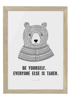 Shoptiques Product: Be Yourself Frame