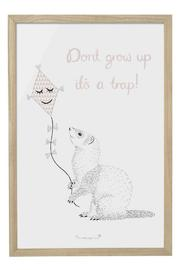 Pulp & Circumstance  Don't Grow Up Art - Product Mini Image