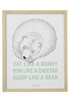 Shoptiques Product: Eat Run Sleep Art