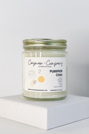 Cayman and Company  Pumpkin Chai Candle - Front cropped