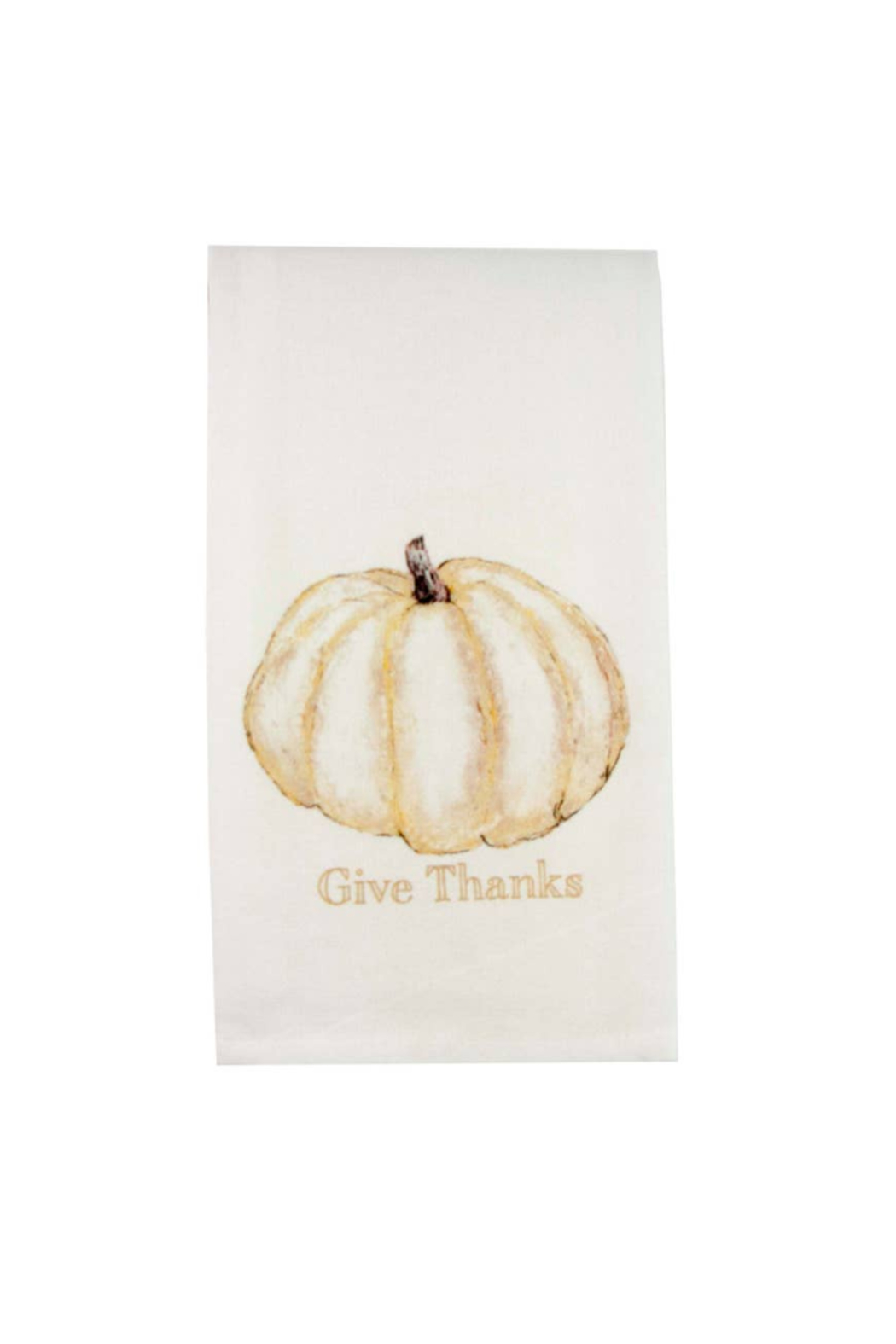 The Birds Nest PUMPKIN DISH TOWEL - Front Cropped Image
