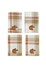 Mud Pie Pumpkin Napkin Set - Product Mini Image