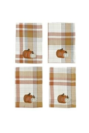 MUDPIE Pumpkin Napkin Set - Product Mini Image