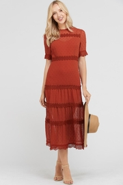 ENTRY Pumpkin-Spice Perfection Dress - Product Mini Image