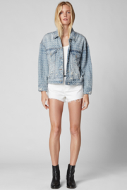 BlankNYC Punch Line Denim Jacket - Product Mini Image