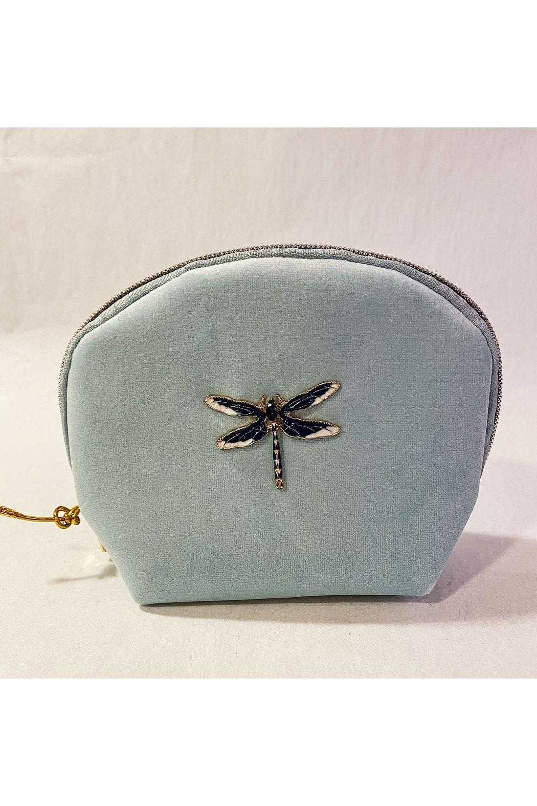 Punch Studio Blue Dragonfly Mini Bag - Main Image