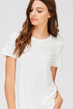R+D Hipster Emporium  Punched Short Sleeve Tee - Product List Image