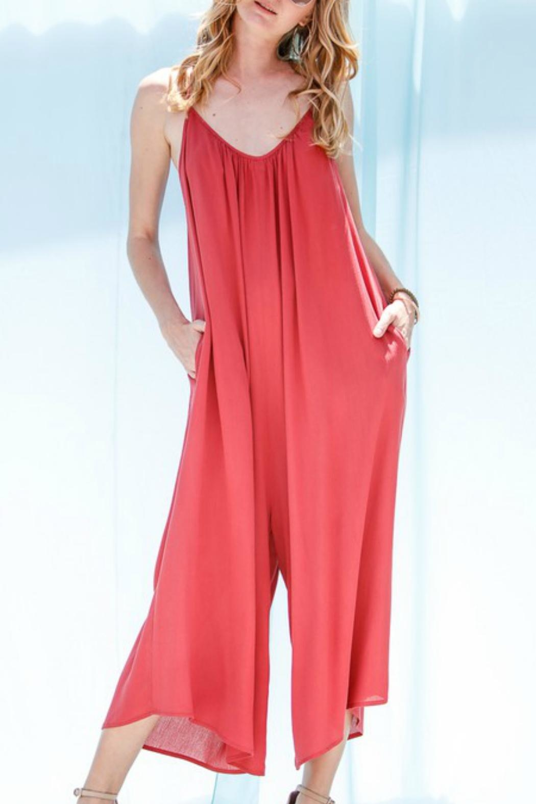 Imagine That Punta Cana Jumpsuit - Front Cropped Image