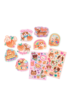 Ooly Puppies & Peaches Scented Stickers - Alternate List Image