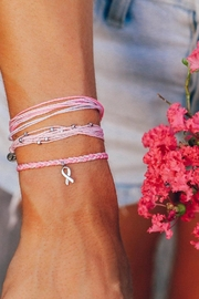 Pura Vida Breast Cancer Bracelet - Product Mini Image
