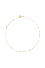 Pura Vida Gold Star Necklace - Front cropped