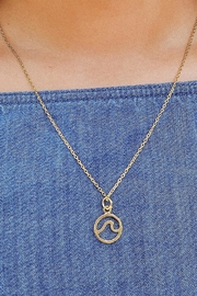 Pura Vida Gold Wave Necklace - Product Mini Image