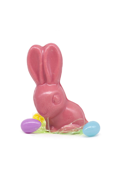 Shoptiques Product: Pure Belgium Ruby Chocolate Bunny