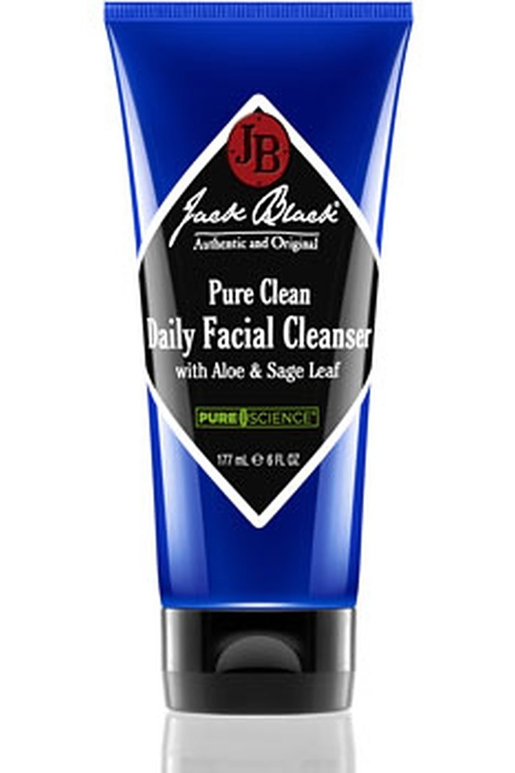 Jack Black Pure Clean Daily Facial Cleanser with Aloe & Sage Leaf - Main Image