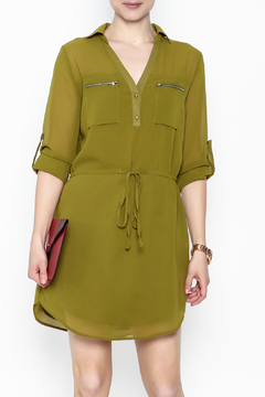 Pure Hype Green Tunic Dress - Product List Image