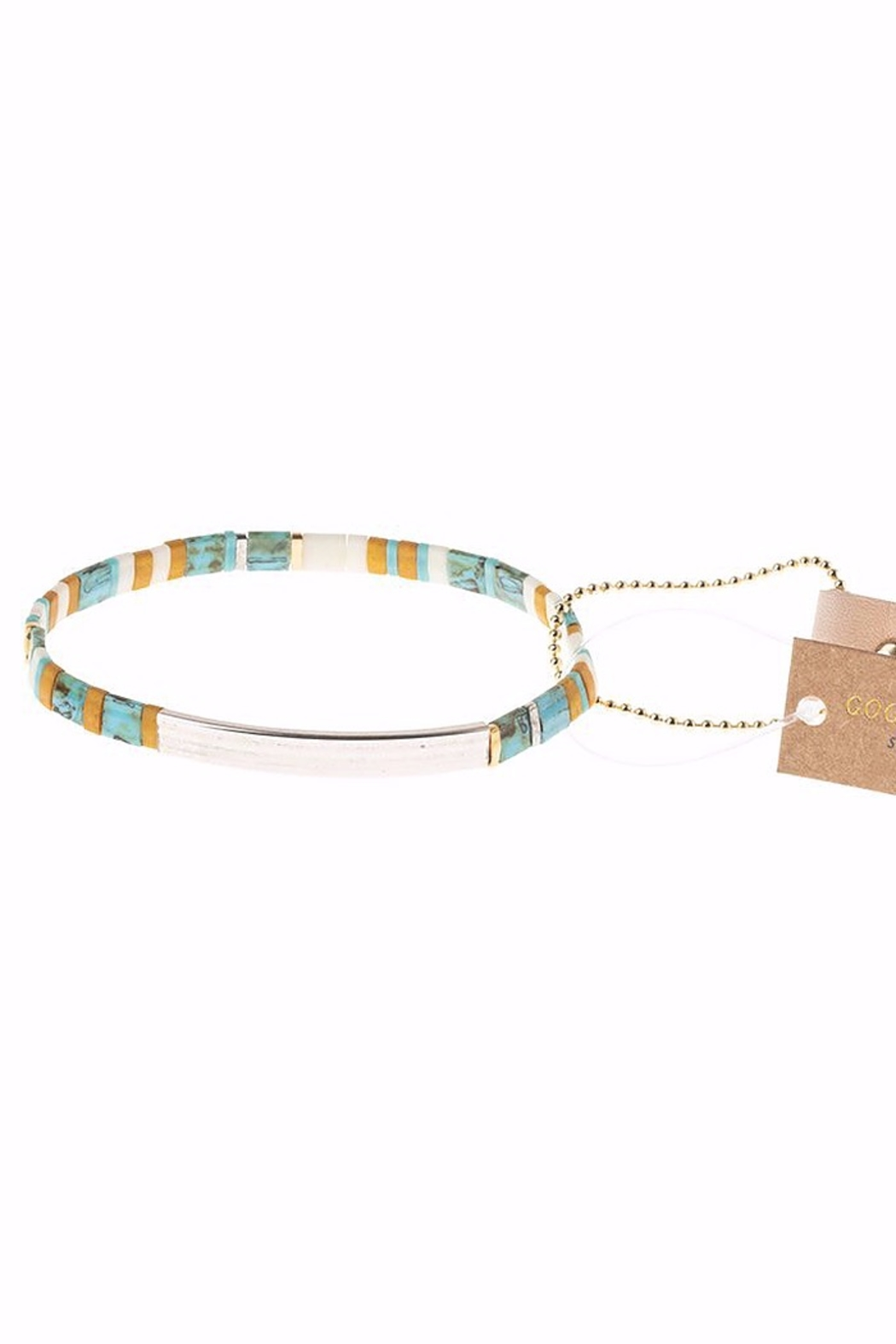 Scout CURATED WEARS Pure Magic Miyuki Tile Bracelet - Front Cropped Image