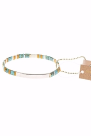 Scout CURATED WEARS Pure Magic Miyuki Tile Bracelet - Front cropped