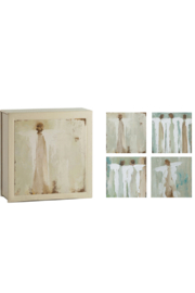 The Birds Nest PURE NOTECARDS WITH ANGELS - Product Mini Image
