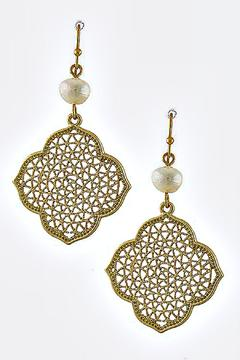 pure Pearl Moroccan Earrings - Product List Image