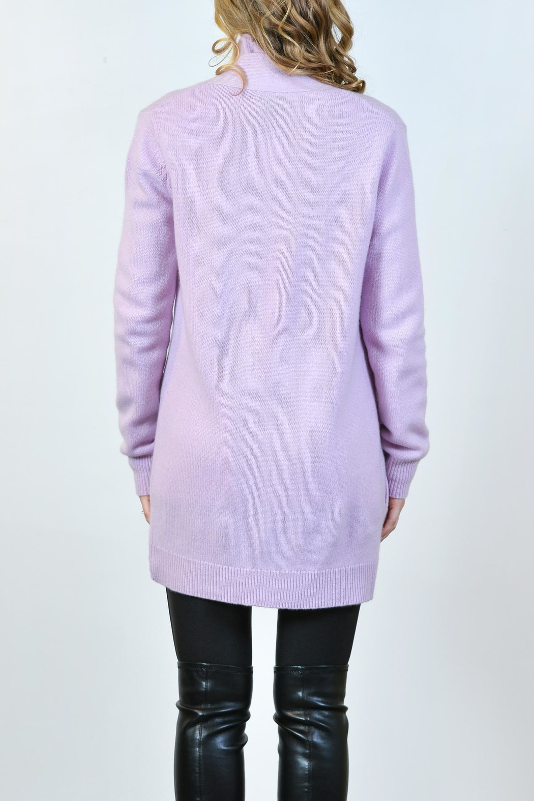 Pure Amici Cashmere Cardigan - Front Full Image