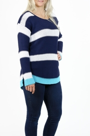 Pure Knits Pullover Sweater - Front full body