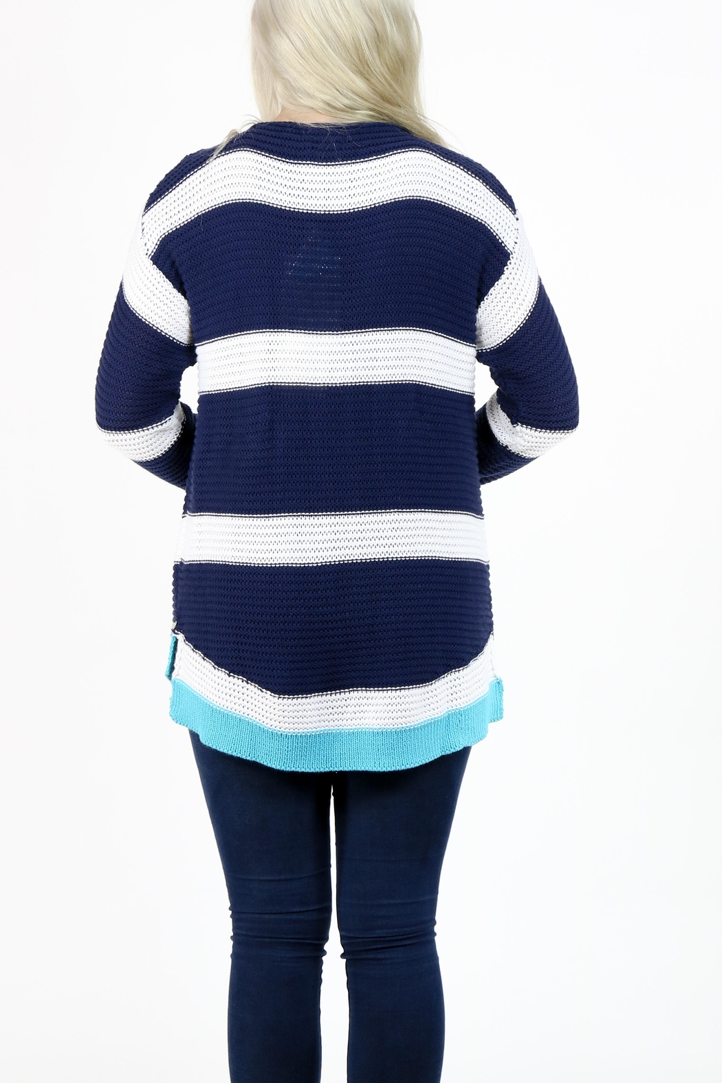 Pure Knits Pullover Sweater - Side Cropped Image