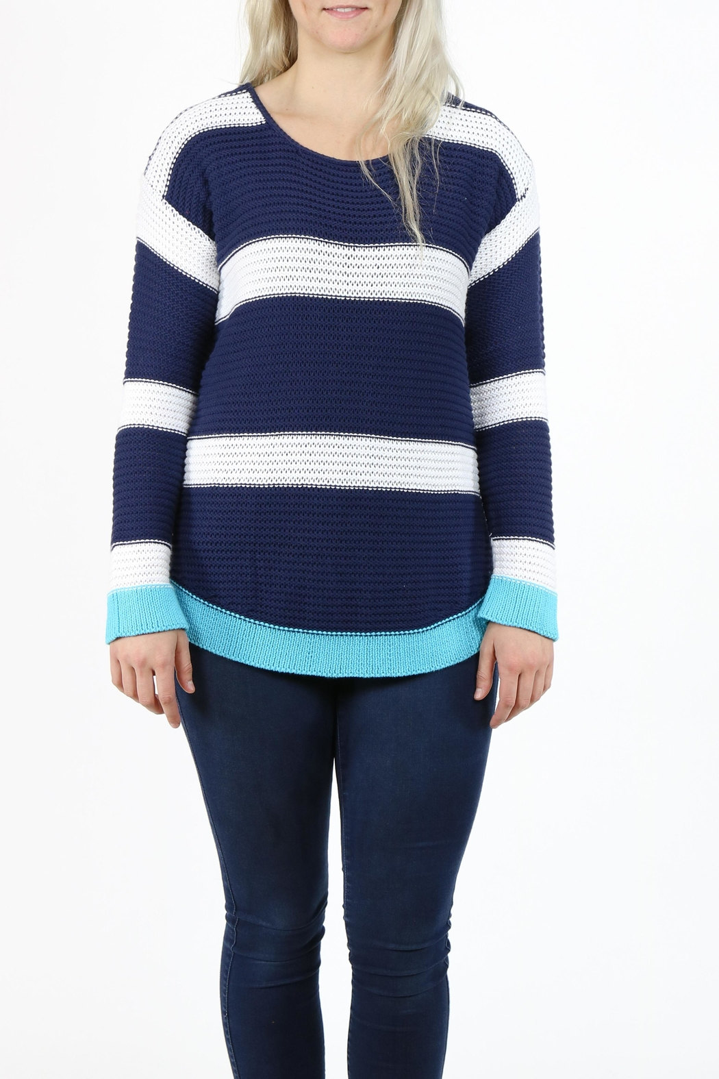 Pure Knits Pullover Sweater - Main Image