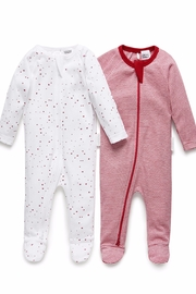 Purebaby 2 Pack Growsuit - Product Mini Image